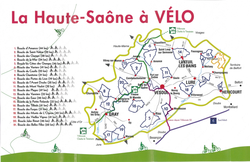 Die boucles de la haute saone radreise wiki for 3966 haute saone
